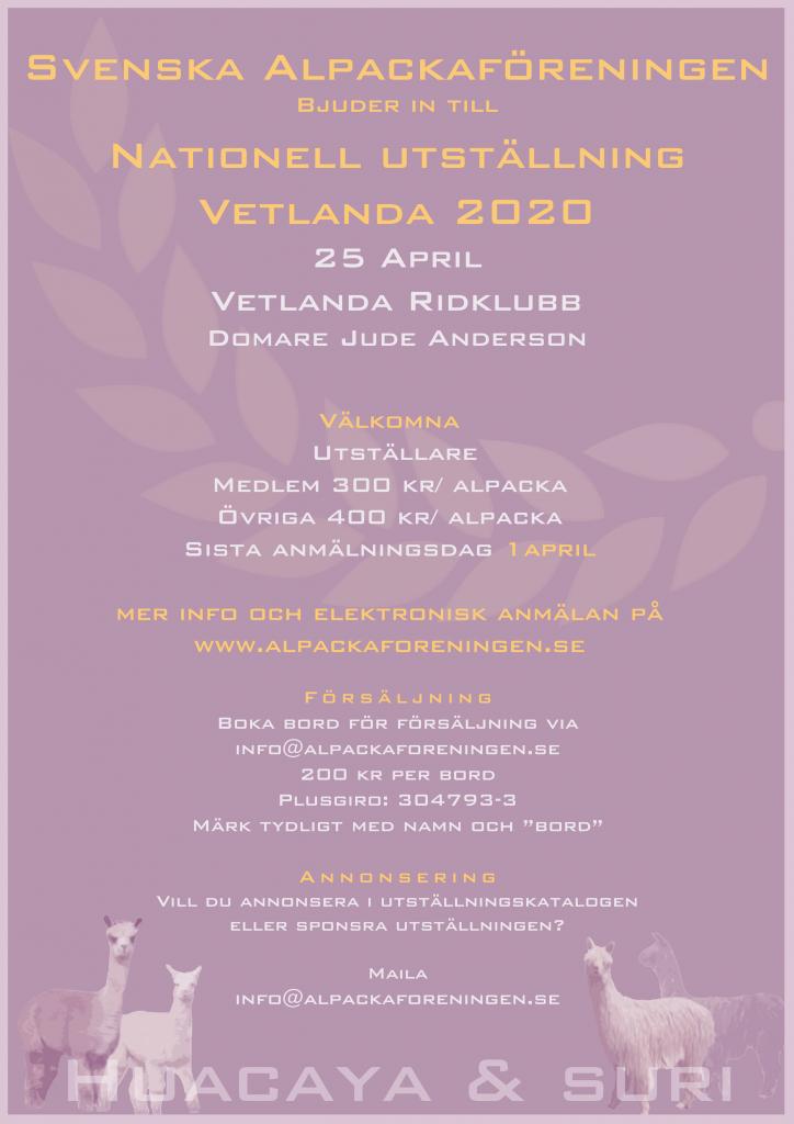 Utställning 2020